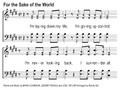 For The Sake Of The World Song Slides