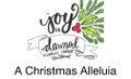 A Christmas Alleluia song slides