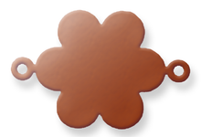 Copper Blank Daisy Stamped Shape for Enamelling & Other Crafts