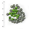 Millefiori - 50g pack (M056), green, 4mm