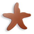 Starfish, small - 10 Pack (Copper Blank 629)