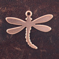 Dragonfly, very small- 10 Pack (Copper Blank 407)