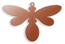 Beefly, medium, lug - 10 Pack (Copper Blank 795)