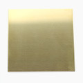 Square brass sheet
