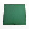 Green anodised aluminium square