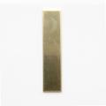 Rectangle, 44*10 mm - 10 Pack (Brass Blank 533)