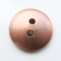 Button, 15mm, domed - 10 Pack (Copper Blank 251)