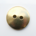 Button, 15mm, domed - 10 Pack (Brass Blank 251)