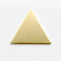 Triangle, 21*21*21 mm - 10 Pack (Brass Blank 766)