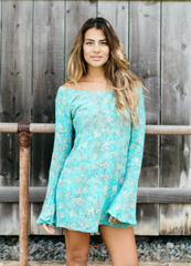 Maize Bell Sleeve dress