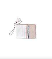 Paula Leather clutch