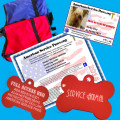 SERVICE DOG ID STARTER PACKAGE #3  WITH  VEST