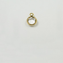 CR29/R-CR; 1 ring, chanel setting with 29SS (6.32mm) Crystal chanel rhinestone set - 12 pieces per package