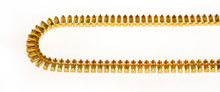 FC73/71: 7mm x 3mm baguette offset connector cup chain, unset, 71 boxes per foot