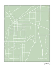 Fort Myers Florida City Map