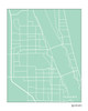Melbourne Florida city map