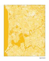 Perth Australia Cityscape