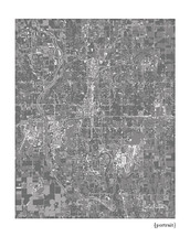 Wichita Kansas Cityscape