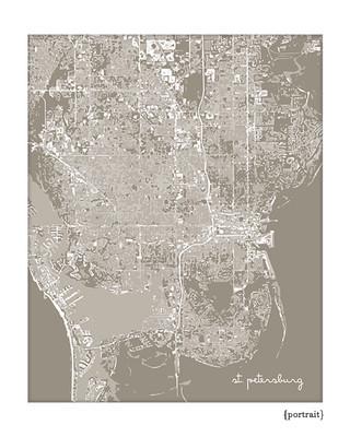 St. Petersburg Florida cityscape