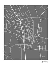 Napa California City Map
