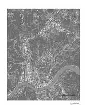 Cincinnati Ohio Cityscape