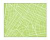 Downtown New York City Map - Landscape
