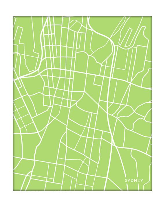 Sydney Australia Map City.Sydney Australia City Map
