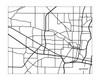 Jackson Mississippi Landscape City Map