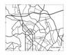 Silver Spring MD city map / Landscape