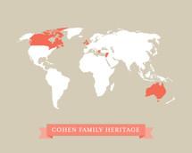 Family World Map