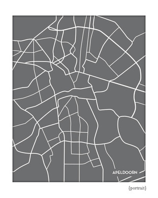 Apeldoorn Netherlands City Map