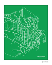Belize City Map
