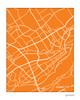 Quebec City Map Art Print