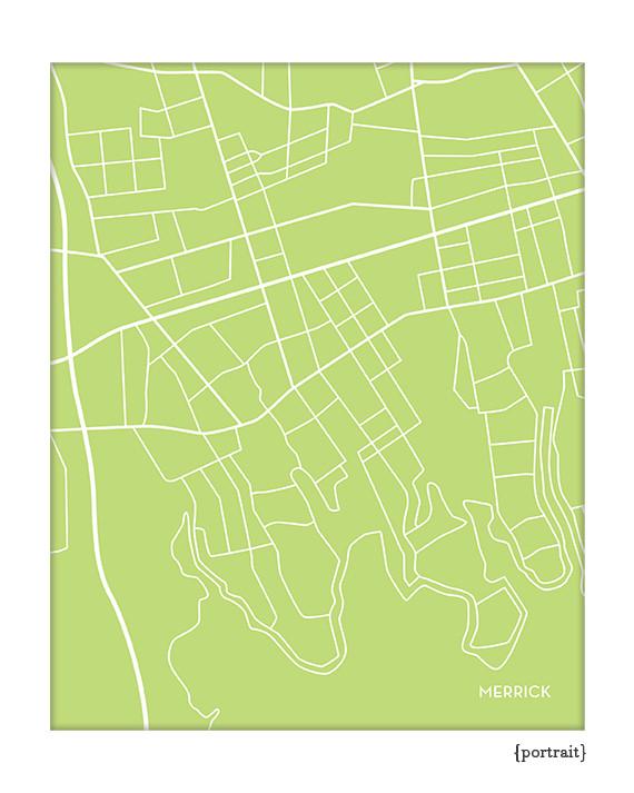 Merrick New York City Map