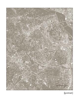 Arlington Virginia cityscape
