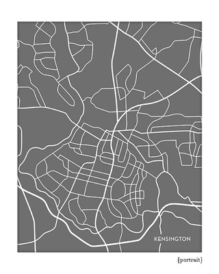 Kensington Maryland city map