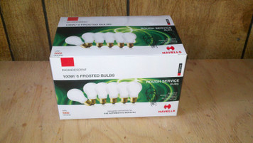 100 Watt Rough Service Light Bulbs