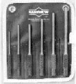 106K, 6 PC Pilot Punch Kit, Mayhew, 62250