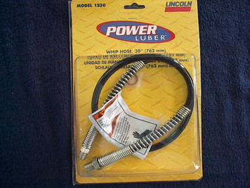 "1230, Whip Hose for Linclon Power Luber 30"" for model 1200 Lubers"