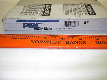 #41 Roller Chain, 10' roll w/ one Connector Link, PRC Import $13.95
