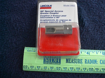 5883 Lincoln 90 degree Special Access Grease Coupler