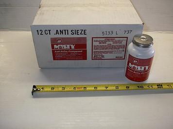 Anti-Sieze Compound 8oz Paste w/ brush, Amrep Inc RLC-737, $/bottle