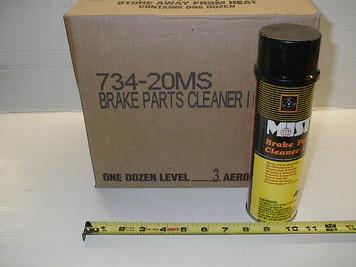 Brakes & Part Cleaner II, 14oz Aerosol B00734, $/can