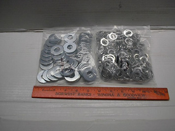 "Lock Washers, 2 Lb. Bag of Split Lockwashers 1/4""-1"""