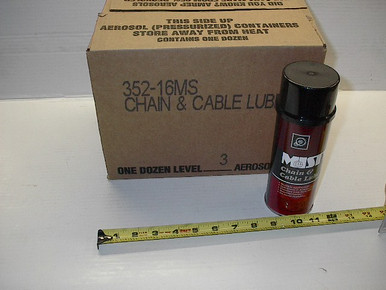 A00352 Moly Chain & Cable Lube, 12oz Aerosol Misty by Amrep