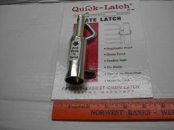 WA Gate Latch, New Farm Products.