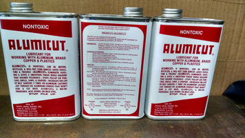 ALUMICUT, by Mistic Metal Mover for cutting Aluminum, Copper, Brass & Plastic 16oz Metal Can  MUST SHIP FEDEX or SPeeDee if in zone 1 picture is three this is for one can