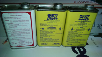 Mistic Metal Mover (2 pints) and Alumicut (1 pint)