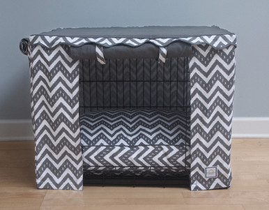 Fair Isle Crate Cover and bed