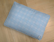 Matching Bed Moroccan Trellis Blue